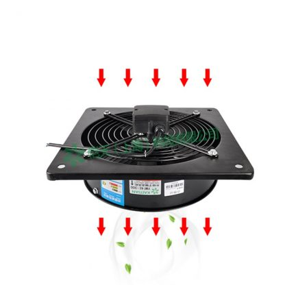 Square outside the axial fan 220V industrial cabinet cooling exhaust fan blower