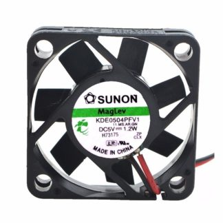 Sunon Maglev KDE0504PFV1 DC 5V 1.2W 2 Lines Server Inverter Axial Cooling Fan