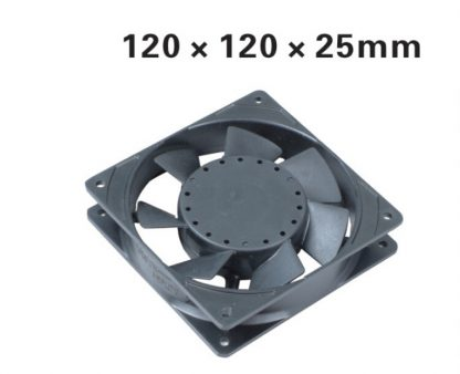 Electronic for 2pcs/lot Ball Bearing type 120 series Axial Blower Fan 120*120*25mm AC Cooling Fan XF1222ABH