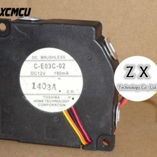 New original C-E03C-02 DC 12V 180mA projector fan In stock~