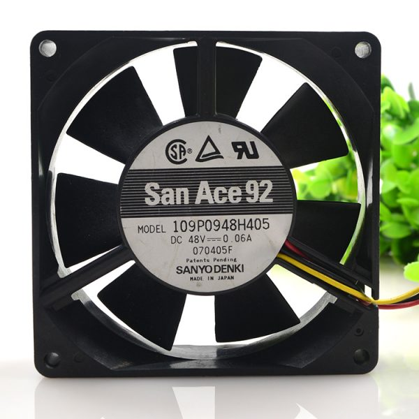 New original 48V 0.06A 9225 9CM 109P0948H405 Industrial inverter ultra-quiet fan