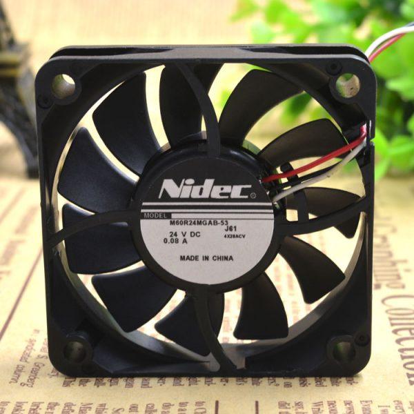 Free Delivery.M60R24MGAB - 53 j56 24 v 0.08 A 60 * 60 * 15 3 line printer power supply fan