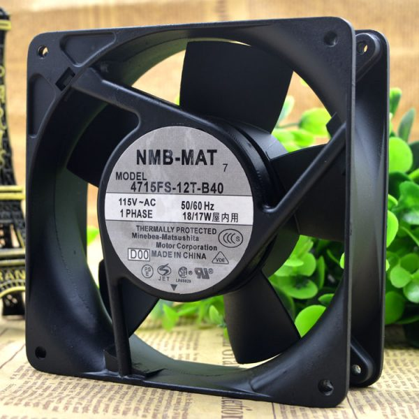 NMB 4715FS-12T-B40 AC115V  Blower Axial Cooling Fan
