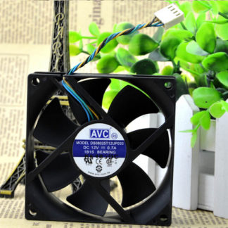 AVC DS08025T12UP033 80*80*25 12V 0.7A 8 cm violence 4 line computer chassis fan