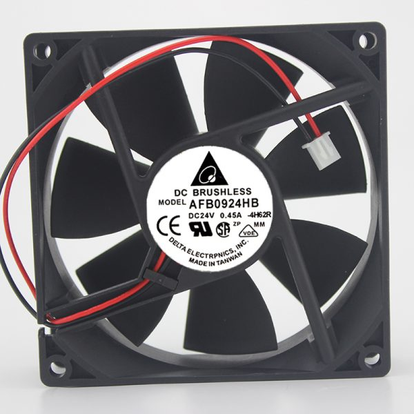 AFB0924HB DC 24V 0.45A 90 * 90 * 25MM 9CM inverter cooling fan