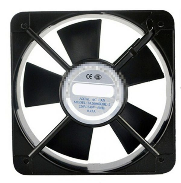 AC Axial Fan Copper Coil TA20060 Industrial Welder Cooling Fan 110V 220V 380V Brushless fan