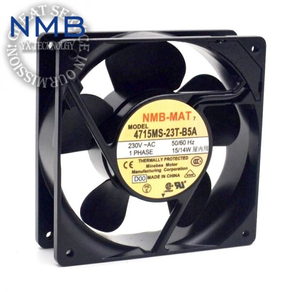 NMB Brand new original converter fan fan 4715MS-20T-B50 Cabinet 200V UPS power supply fan 119*119*38mm