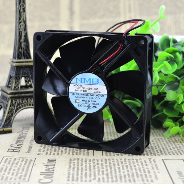 Free Delivery. 3610 kl - 05 w - 9025 24 v B50 0.20 A 92 * 92 * 25 mm inverter case fans