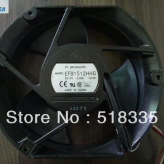 Delta EFB1512HHG 17CM 17*15*5.1CM 170*150*51MM 1750 17251 12V 2A cooling fan