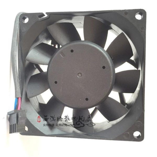 New Delta PFB0824UHE 8038 24V 0.93A 80mm * 80mm * 38mm wide 4-wire PWM temperature control inverter fan