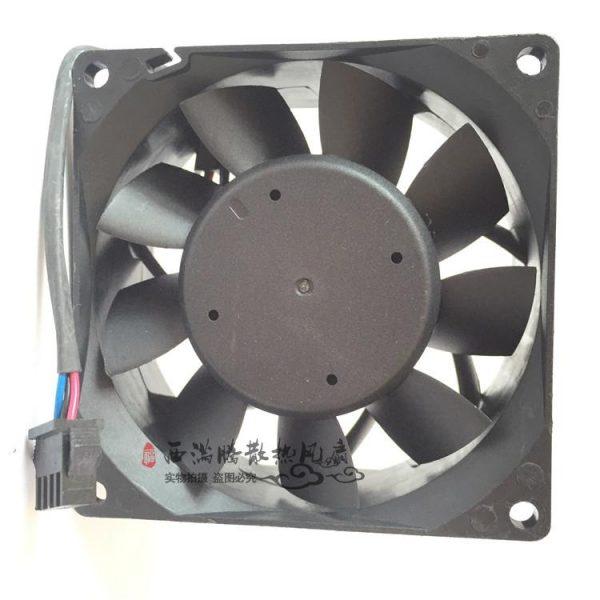 New Delta PFB0824UHE 8038 24V 0.93A 80mm * 80mm * 38mm wide 4-wire PWM temperature control inverter fan