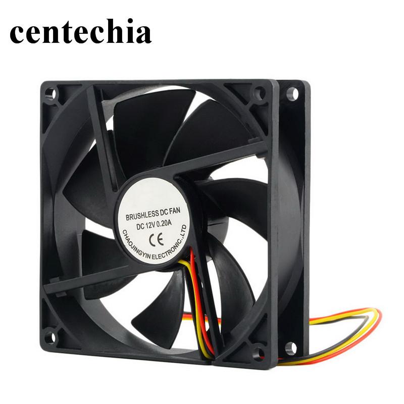 3 Pin CPU 5cm Brushless Cooling Cooler Fan Heatsinks Radiator for PC Computer