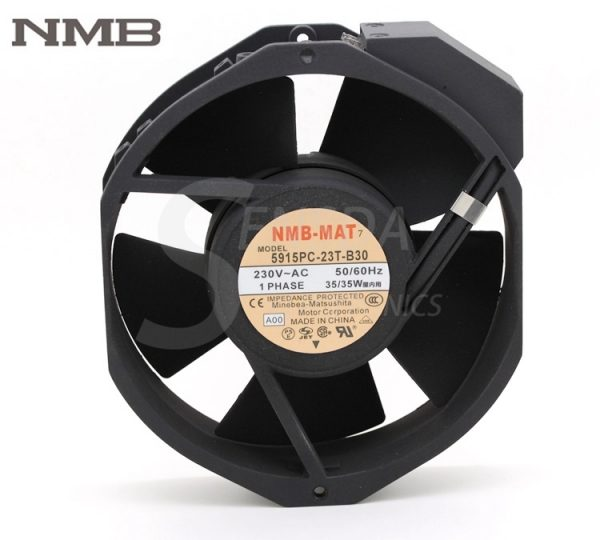 Original NMB Blowers 5915PC-23T-B30 1738 230V 170mm industrial blower server cooling fans