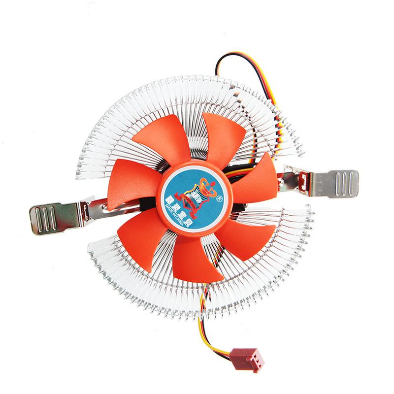 CPU Quiet Fan 2200rpm Cooling Heatsink Cooler For Intel LGA775//1155 AMD AM2//3
