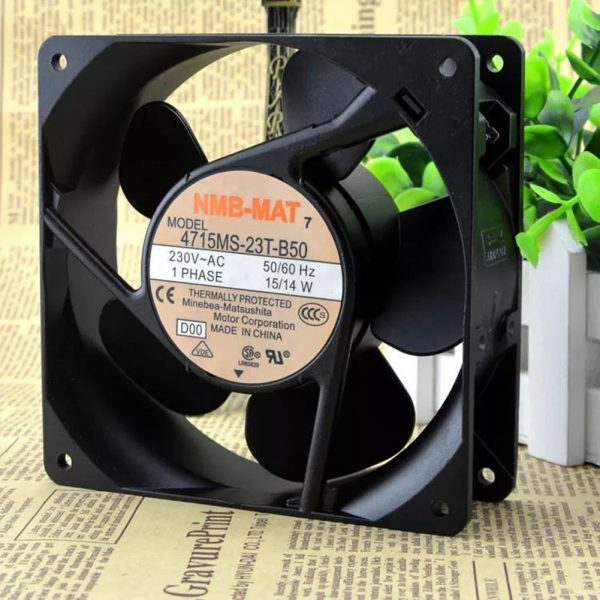 For NMB 4715MS-23T-B50 120*120*38mm 2600RPM AC230V 15/14W cooling fan