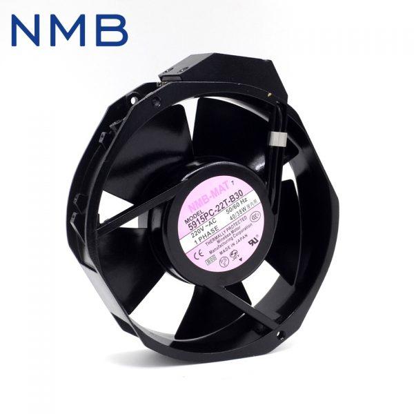 NMB 172*172*38mm 5915PC-22T-B30 17238 17CM, 220V, 40W bearing blower fan heat sink