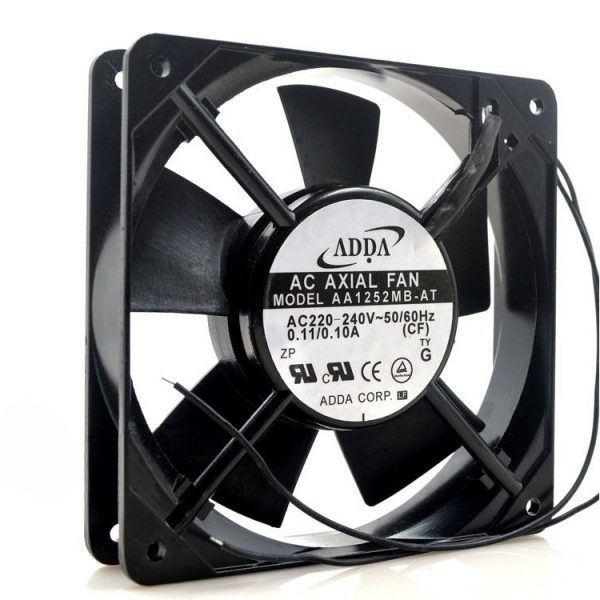 ADDA AA1252MB-AT AC 220V 120mm 120*120*25mm 12025 12CM axial fan outlet cooling fan