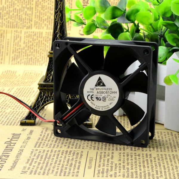 Free Delivery. 12 where v0 ASB0812HH 8025 8 cm. 30 a high-quality ultra-quiet chassis cooling fans
