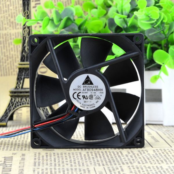New original 9025 48V 0.14A 9CM Inverter Fan AFB0948HH-R00