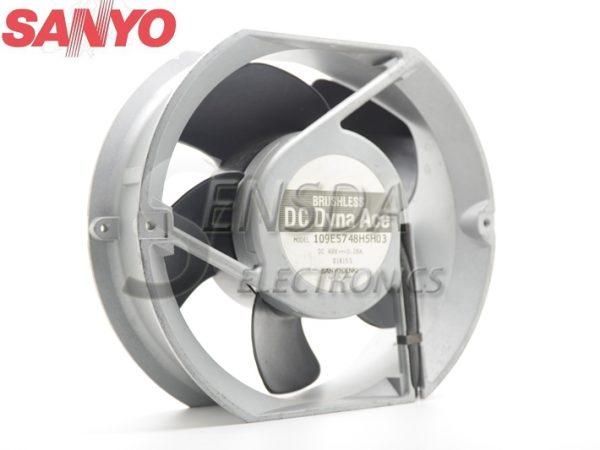 Sanyo 109E5748H5H03 17251 172mm 17cm DC 48V 0.28A mechanical metal Aluminum Frame server inverter fan