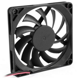 80mm 2 Pin Connector Cooling Fan for Computer Case CPU Cooler Radiator Computer Accessories CPU Cooling Fans P0.11