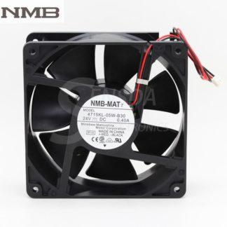 Original NMB 4715KL-05W-B30 120mm 12cm 12038 DC 24V 0.40A 9.6W server inverter computer axial cooling fans
