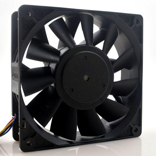 New original 24V 2.40A 12038 PFC1224DE 12CM large air volume 4 wire inverter fan