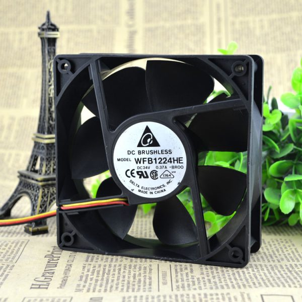 Free Delivery. Wfb1224he BROO 12038-12 cm 24 v 0.50 A 3 line inverter fan