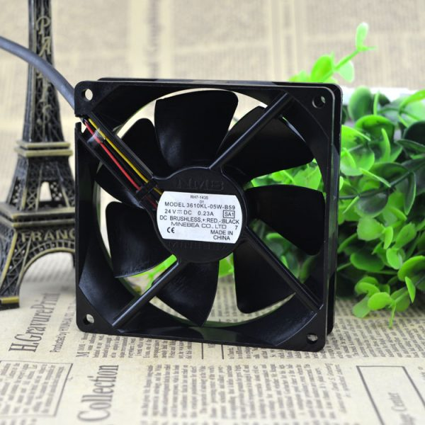 Free Delivery. 3610 kl - 05 w - B59 24 v 0.20 A 9225 three line inverter fan