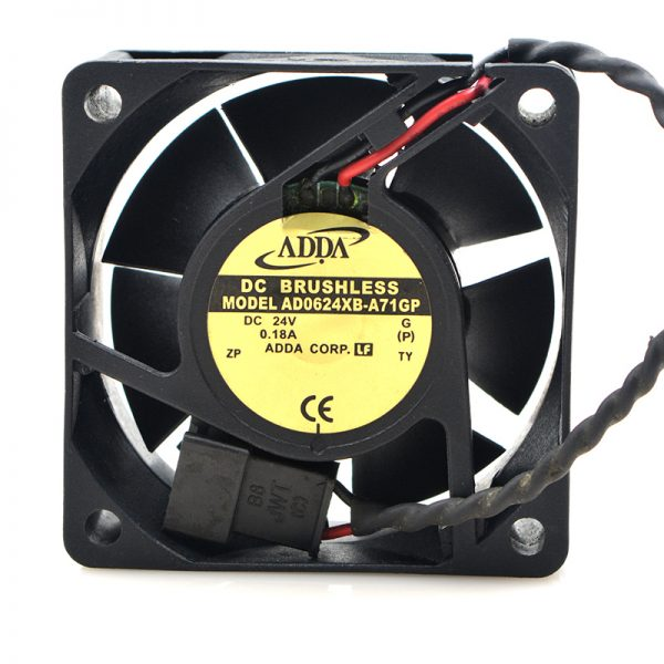 Original ADDA AD0624XB-A71GP DC 24V 0.18A 4.32W 6025 60*60*25mm inverter server cooling fan