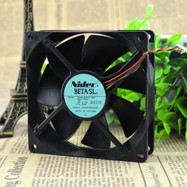 Free Delivery. D09A - 24 pu 06 RH7 b - 1526-24 v 0.14 A 9 cm 9025 inverter fan