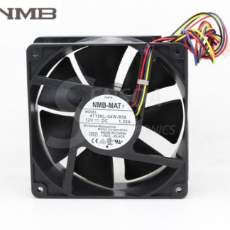 Original NMB 4715KL-04W-B56 12CM 120MM 12038 DC 12V 1.3A P/N Y4574 server inverter axial blower industrila cooling FANs