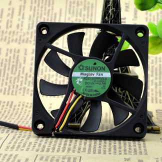 The original SUNON KDE1207PFV3-A 12V 0.7W 70*70*10 7CM 3 pin quiet cooling fan