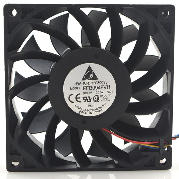 New original FFB0948VH 9225 48V 0.26A PWM speed air volume cooling fan