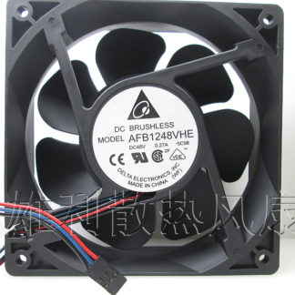 Free Delivery. Original AFB1248VHE 48V 0.27A 12038 12CM 3-wire inverter cooling fan