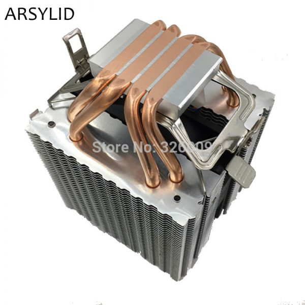 ARSYLID CN-409A CPU cooler 9cm fan 4 heatpipe cooling for Intel LGA775 1151 115x 1366 2011 Cooling for AMD AM3 AM4 radiator fan