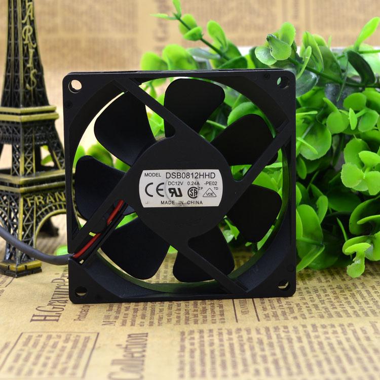 Delta DSB0812HHD 12V 0.24A 2line oil case cooling fans