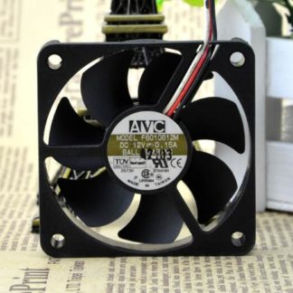 Original AVC 60*60*10 6cm F6010B12M DC 12V 0.15A 3-wires ball cooling fan
