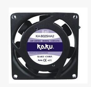 New original KA8025HA2 AC 220V 8CM cm axial fan industrial cooling fan