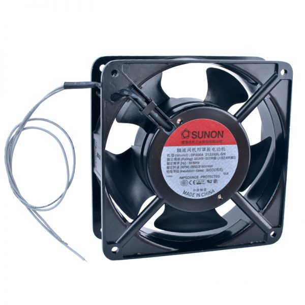 COOLING REVOLUTION DP200A2123XBL.GN2123XBT 12cm 120mm 12038 220V Metal AC cooling fan Cabinet fan