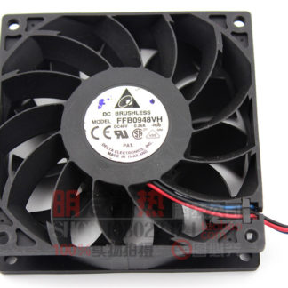Original genuine 9025 FFB0948VH 48V 0.26A 3-wire variable frequency fan