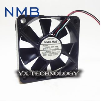 NMB Original 2410ML-05W-B39 6025 6CM 0.08A 24V inverter fan stall warning 60*60*25mm