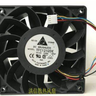 Original DELTA TFC1212DE DC 12V 3.9A 12038 Dual Ball Pressure Type Violence Fan
