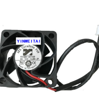 NEW Original cpu fan For ARX 4020 FD1240-A1142D DC12V 0.20A 40*20m