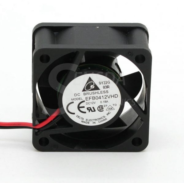 Delta efb0412vhd 40mm 4020 DC 12v 0.18a 4cm server inverter computer cpu axial blower cooling fans