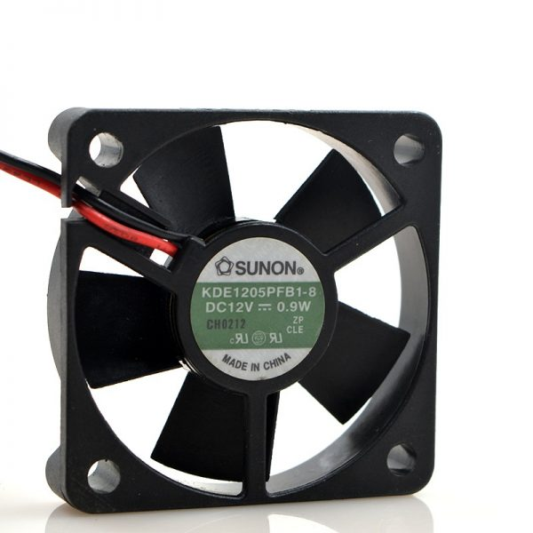 New original KDE1205PFB1-8 12V 0.9W 5010 5CM ultra-quiet cooling fan