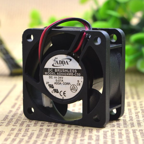 Free Delivery. AD0424MB - C50 24 v 0.07 A 4020 double ball inverter fan
