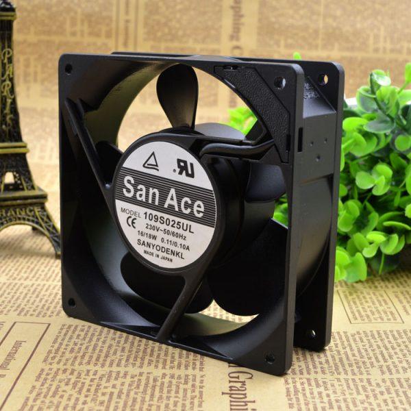 Free Delivery. 109 s025ul original 120 * 120 * 230 v 38 aluminum frame ac fan