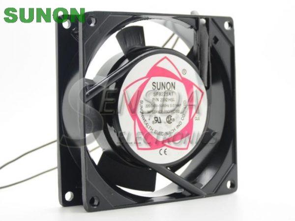Sunon 92*92*25 mm 9cm 90mm SF9225AT 2092HSL AC 220V server inverter cooling fan