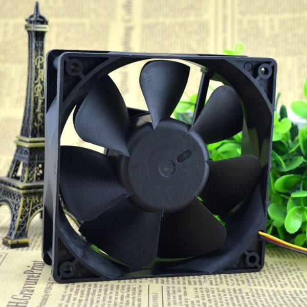 New original WFB1224HE-BROO 12038 12CM 24V 0.50A 3-wire inverter fan